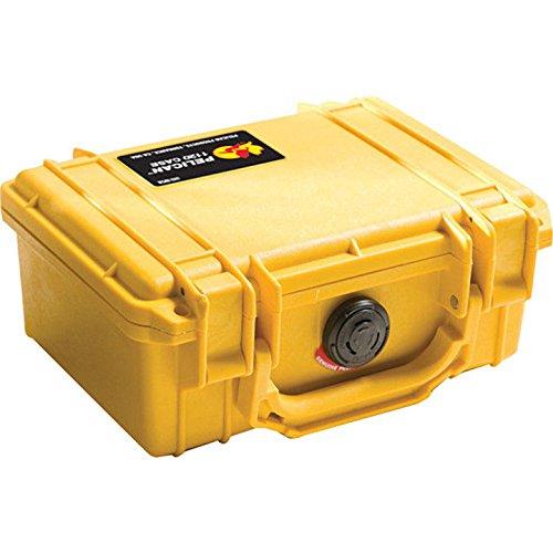 - Pelican 1120-000-240 Case W/Foam for Camera (Yellow)