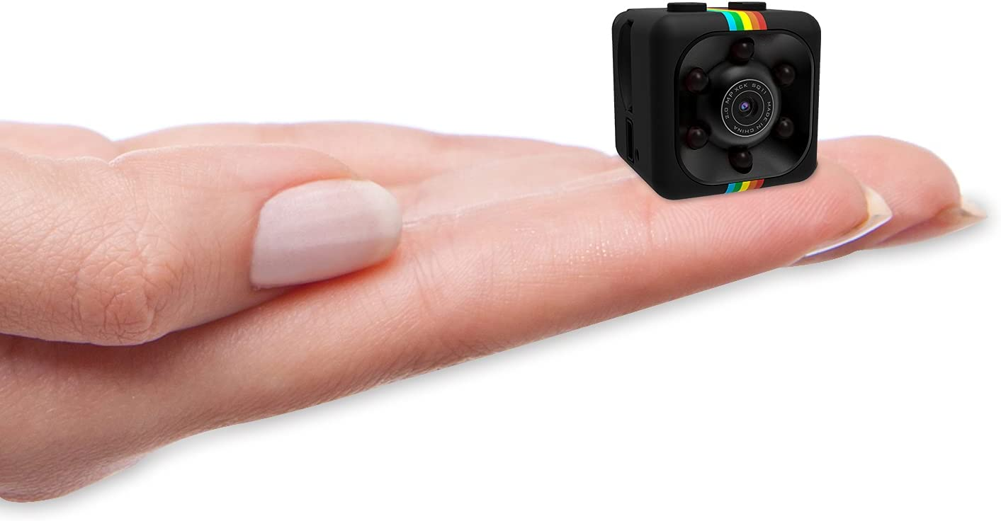 Mini Camera Spy Wireless Hidden Camera,ehomful 1080P Body Camera Action Camera, Convert Security Nanny Cam with Night Vision and Motion Activated for Home,Car,Office Indoor and Outdoor