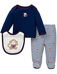 Little Me Baby Boys' Lap Shoulder Set