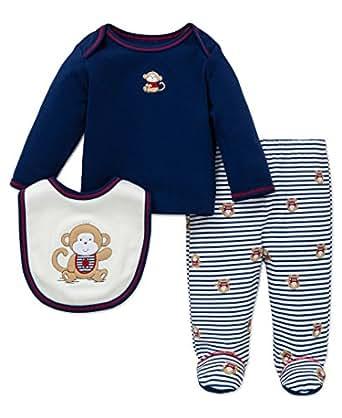 Amazon Little Me Baby Boys Lap Shoulder Set Clothing