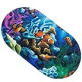 "Mocollmax NON-SLIP Tub Bath Mat for Toddler/Kids Anti-Bacterial Bathtub Mat, Shower Mat 27""x15""(69cmx38cm)"
