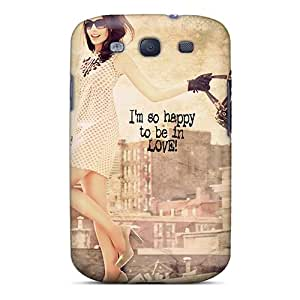 New Style Case Cover EDwueja8083EdGHK Im So Happy Compatible With Galaxy S3 Protection Case