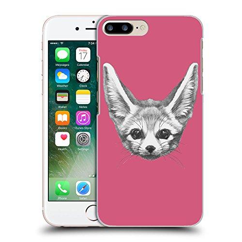 GoGoMobile Coque de Protection TPU Silicone Case pour // Q05230614 Fennec fox Rougir // Apple iPhone 7 PLUS