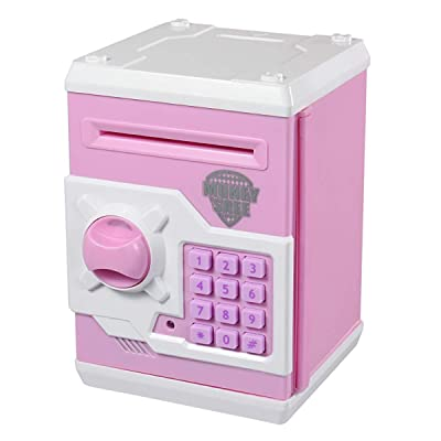 85 TOPBRY Cartoon Electronic Password Piggy Bank Cash Coin Can For Children Toy