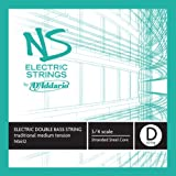 D'Addario NS Electric Traditional Bass Single D String, 3/4 Scale, Medium Tension