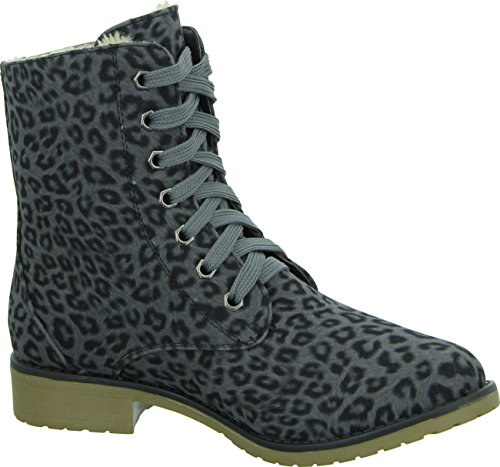 Living Updated Damenschuhe casual Dersert Boots im Leo-Look
