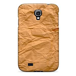 Awesome Paper Texture 4g Flip Case With Fashion Design For Galaxy S4
