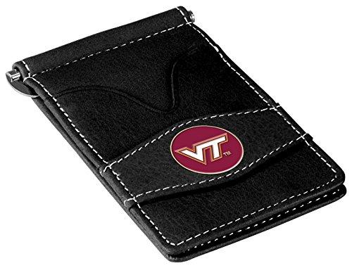 (NCAA Virginia Tech Hokies Players Wallet - Black)