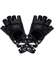 LYTIVAGEN 1 para rękawiczek punkowych bez palców spódnica rękawiczki damskie skórzane do tańca, hip hop, Performance, tańca, Cosplay, imprezy
