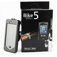 Maximal Power Waterproof Case Bike Handlebar Mount Bicycle Phone Holder for iPhone 5/5s - Non-Retail Packaging - Black