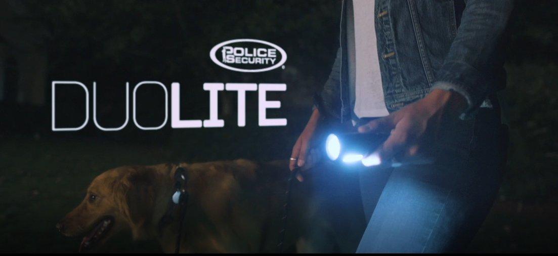 Police Security DuoLite 3AAA - Ultra Bright- Cree LED - Dual Utility Work Flashlight (Spotlight Beam and Area Light) - 300 Lumens - Everyday Use - Dog Walking, Hiking - Lights Your Path by Police Security Flashlights (Image #7)