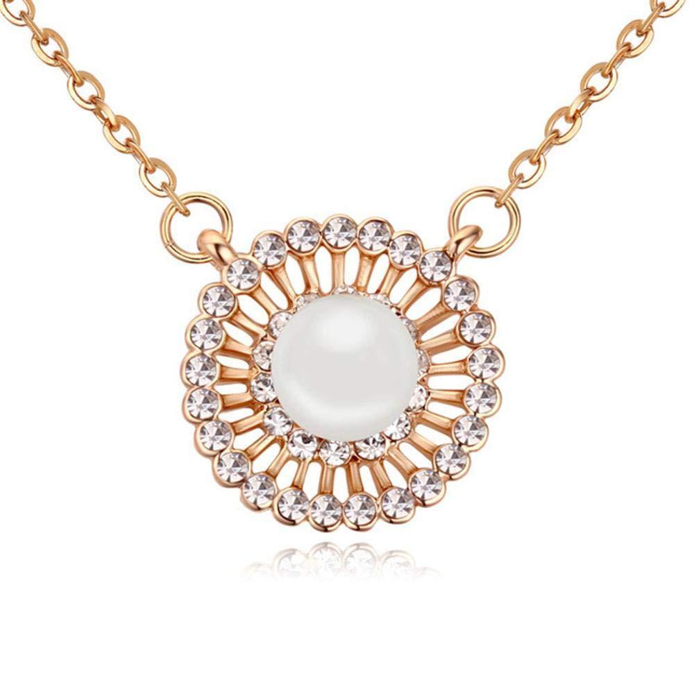 Weiduoliファッションオーストリアの真珠のネックレスネックレスレディの夢の輝き   B07MGPKDQR
