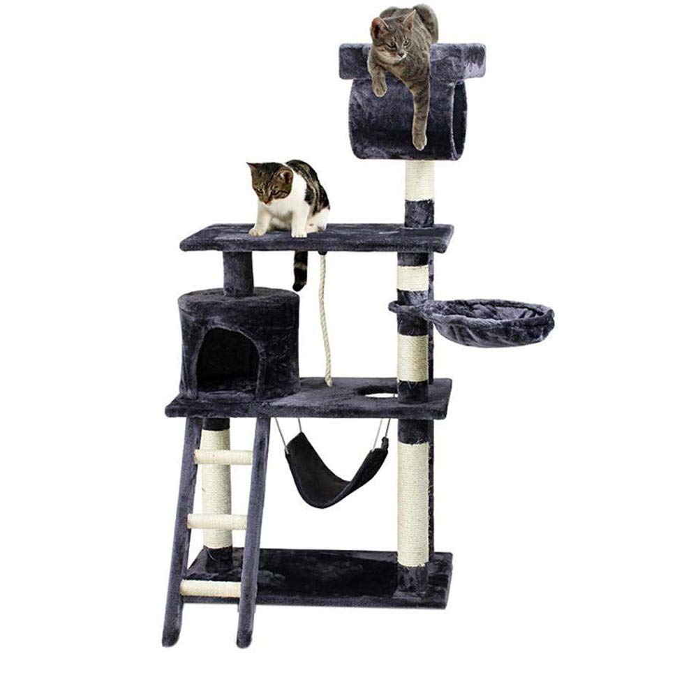 A Hexiansheng Cat Climb Trees Sisal Corrugated Cat Scratch Board sisal cat cat Nest Cat Toy 70  40.5  141cm
