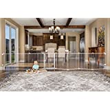2 x Regalo 192-Inch Super Wide Gate and Play Yard, White