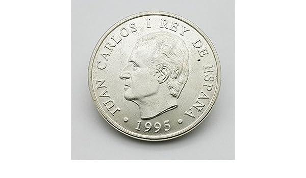 Desconocido Moneda de Plata de 2000 Pesetas del Año 1995 Juan Carlos I: Amazon.es: Juguetes y juegos