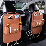 Hxdeli Car backseat organizer-brown