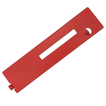 Ryobi rts21 10 table saw replacement dado throat plate ryobi rts21 10quot table saw replacement dado throat plate 089037011021 greentooth Choice Image