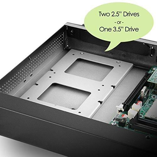 MITXPC M1U05 Mini 1U Rackmount Case with Front I/O Access, 250W 80+ Power Supply by MITXPC (Image #3)