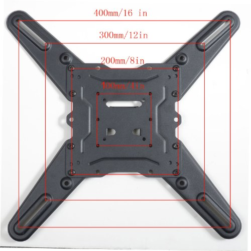 "VideoSecu LED LCD TV Wall Mount for most 22""-47"" LCD, LED & Plasma Televisions and some models up to 55"" inches - up to 88 lb VESA 400x400 mm with Full Motion Swivel Articulating Arm, 20 in Extension and Post-installation Leveling System, for Monitor Flat Panel Screen, Bonus 10 ft HDMI cable and Magnetic Bubble Leveler WP5"