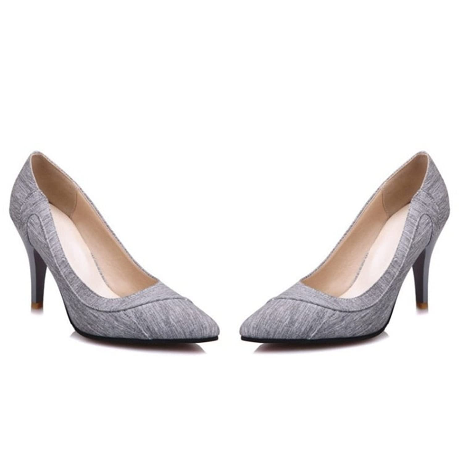 Smilice Size 1-15 US Women Stiletto Court Shoes Pointed Toe Dressy & Formal  Pumps: Amazon.co.uk: Shoes & Bags