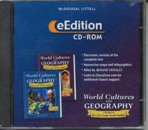 McDougal Littell World Cultures & Geography Georgia: eEdition CD-Rom Grades 6-8 2005 ebook