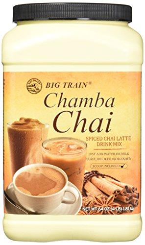 Big Train Chamba Chai Spiced Tea Latte Mix, 4 Pound