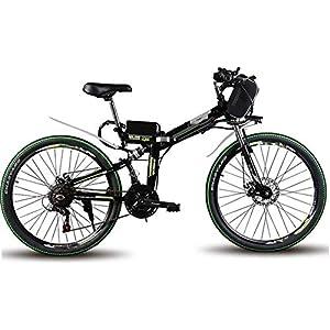 51U1%2BDEC3oL. SS300 RVTYR Montagna Pollici Bicicletta di 60 km 35 km/H Bici elettrica Pieghevole Walking 500 W di Potenza del Motore a…