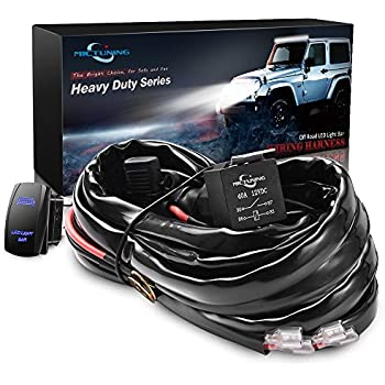 51U1%2BIVLdEL._SL500_AC_SS350_ amazon com opt7 led light bar wiring harness 14 gauge 380w wiring cyclops light bar wiring harness kit at readyjetset.co