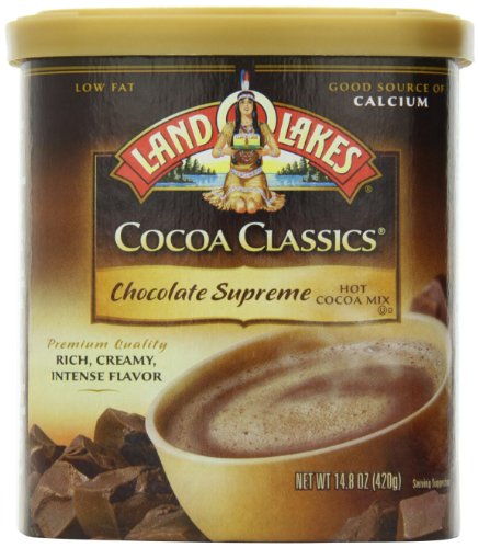Land O Lakes Mix Cocoa Chocolate Supreme, 14.8 oz (Best Ever Hot Cocoa Mix)