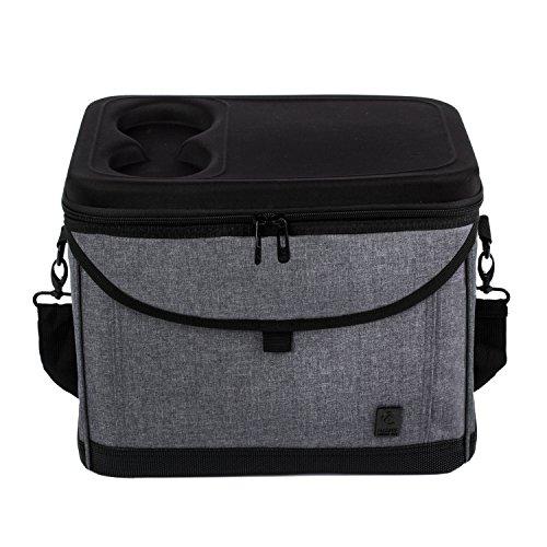 ALLCAMP Insulated Meal COOLER BAG 22L Management (grey)
