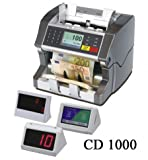 CD-1000 Russian Rubles Mixed Bill Currency Money Value Counter and Sorter-Multiple Currency Discriminating Counter and Counterfeit Bill Detector