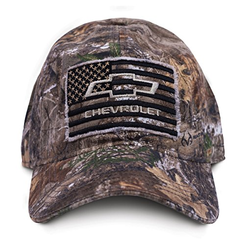 (Buckwear Buck Wear 9111 Chevy Smooth Operator Baseball Cap Camo Edge Frame/Black, One Size)