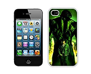 Hulk Case For iPhone 4S/4 White
