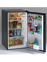 Avanti AR4446B 20 Freestanding Compact Refrigerator with 4.5 cu. ft. Capacity, in Black