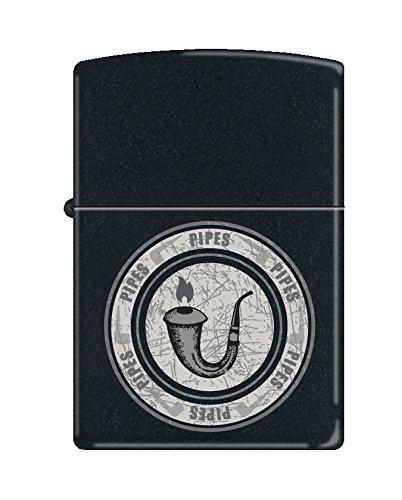 Zippo Pipe Lighter, Black Matte ()