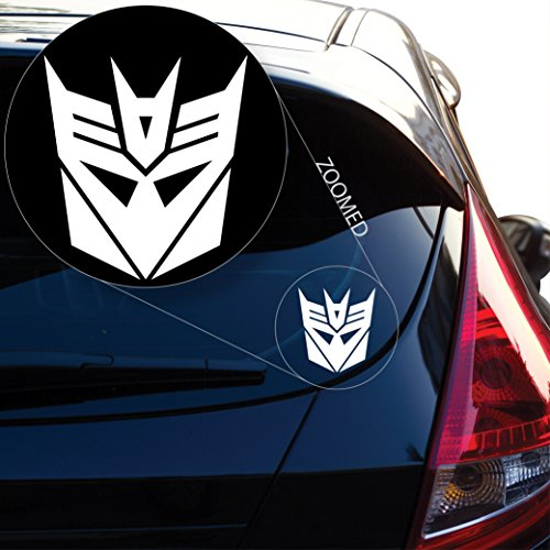 (Decepticon from Transformer Decal Sticker for Car Window, Laptop and More. # 543 (4