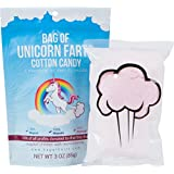 BAG OF FARTS Cotton Candy Funny for All Ages Unique Birthday Gag Gift for Friends, Mom, Dad, Birthday Girl, Boy Grandson Granddaughter Present Mother's Day (Unicorn Farts Cotton Candy)