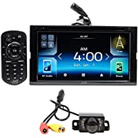JVC KW-V830BT 6.8 Car DVD Bluetooth Receiver Android, Carplay, Dual USB+Camera