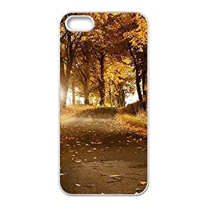 Autumn forest scenery Phone Case for iPhone 5S(TPU)