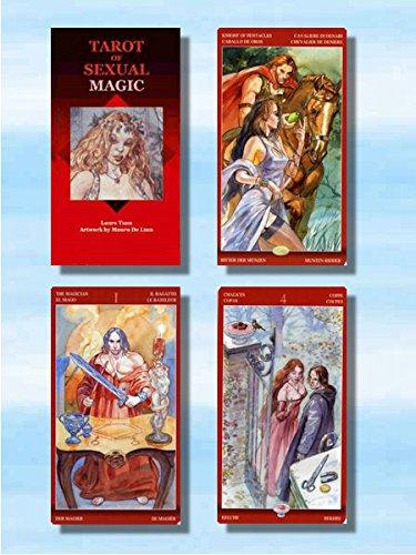 Tarot der sexuellen Magie. Kartenset mit 78 Tarotkarten.