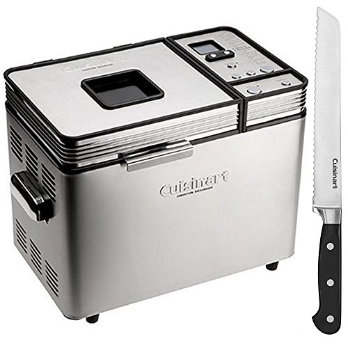 Cuisinart 2 Lb Convection Bread Maker Refurbished (CBK-200FR) with Triple Rivet Collection 8