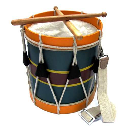 (Civil War Drum Revolutionary Marching Blue with Sling)