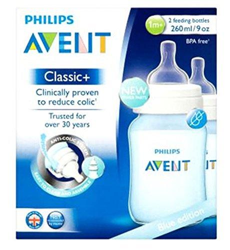 最高の品質 フィリップスAvent青版の古典+ 2哺乳瓶の1メートル+ 260ミリリットル (Avent) (x2) - B01N05ZSJ2 Philips [並行輸入品] Avent Blue Blue Edition Classic+ 2 Feeding Bottles 1m+260ml (Pack of 2) [並行輸入品] B01N05ZSJ2, 鏡野町:aac77c9d --- a0267596.xsph.ru