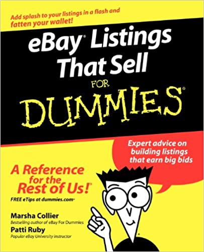 eBay Listings That Sell For Dummies: Marsha Collier, Patti Louise