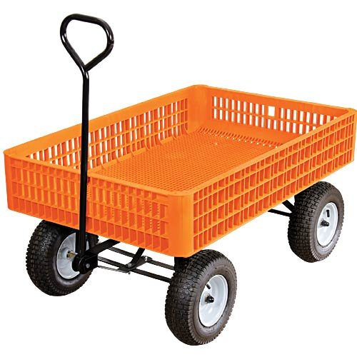 Orange Utility Wagon