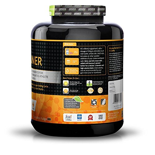 ADVANCE NUTRATECH Weight Gainer Chocolate 3 KG