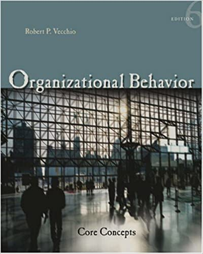 Book Organizational Behavior: Core Concepts (Available Titles CengageNOW) by Robert Vecchio (2005-02-02)