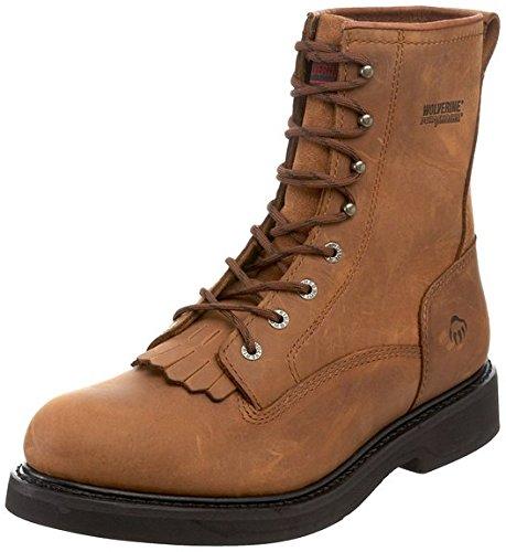wolverine-mens-ingham-durashocks-8-kiltie-lacer-boot-dark-brown-110-ew-and-work-sock-bundle