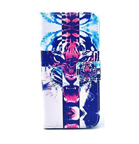 Monkey Cases® iPhone 6 4,7 Zoll - Flip Case - TIGER - Matt - Premium - original - neu - Tasche #2