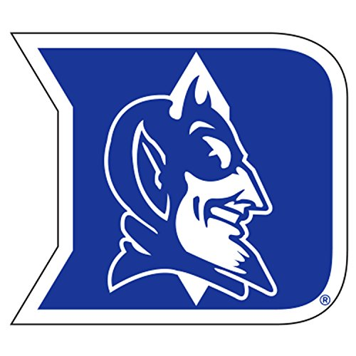 Duke Blue Devils Window - Duke Blue Devils, Blue / White Premium Vinyl Decal, Yeti